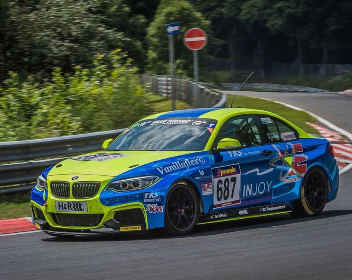 Meister Team BMW M235iR-Cup VLN 2015
